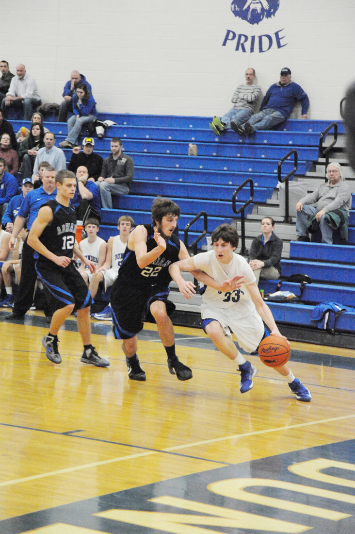 The Vikings bowed out with a 59-40 loss to Adrian.