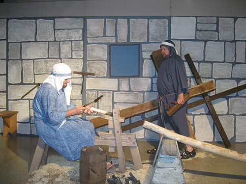 'Journey to the Cross'  re-enacted