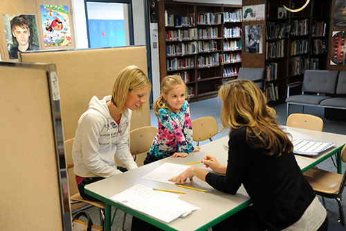 Youngsters get tested for kindergarten readiness