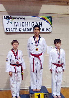 Nash wins silver medals at State, advances in Tae Kwon Do