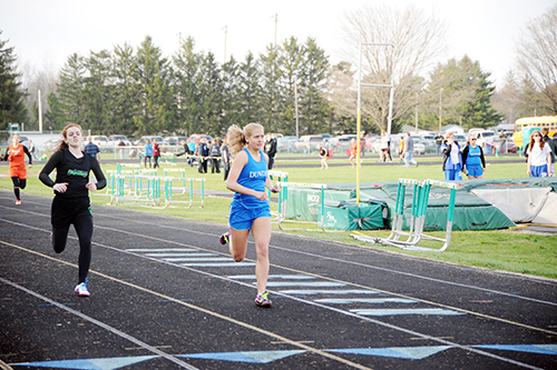 Dundee hosts double dual track meet