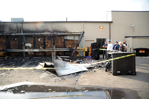 Fire at Kroger store investigated