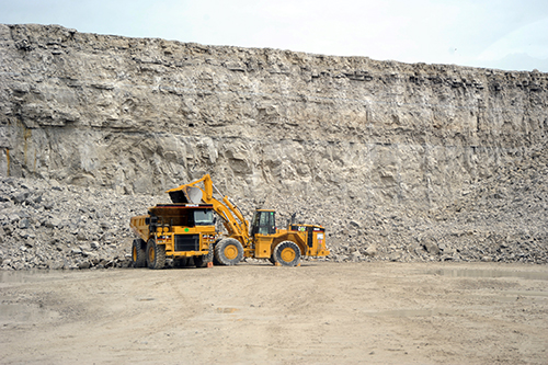 Stoneco leads quarry tours at Maybee Day festival
