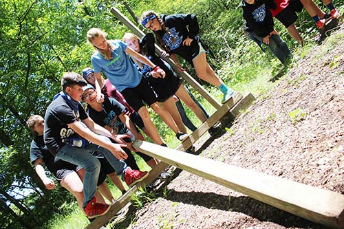 Dundee eighth graders go camping in Ohio