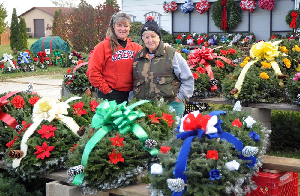 Christmas greenery a tradition