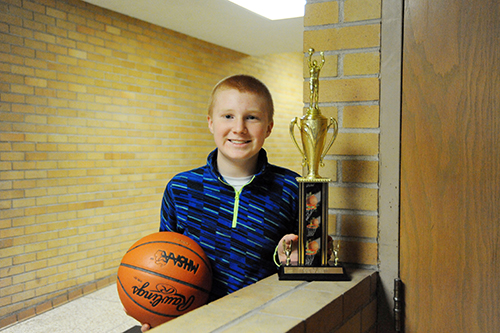 Carner is 3-time State Free Throw Champion