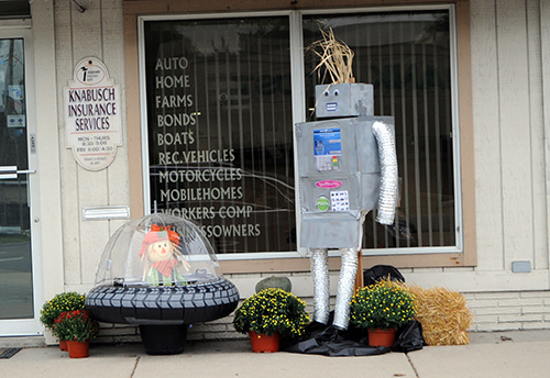 Scarecrow contest winners decided