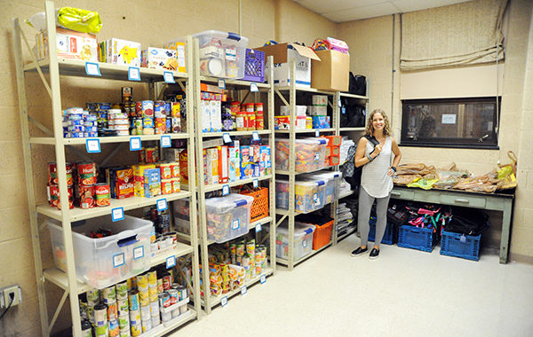 District nurse sets up food pantry for weekends
