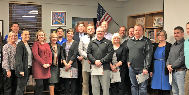 Dundee school board re-elects officers