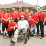 Crash victim thanks Summerfield  firefighters who saved his life